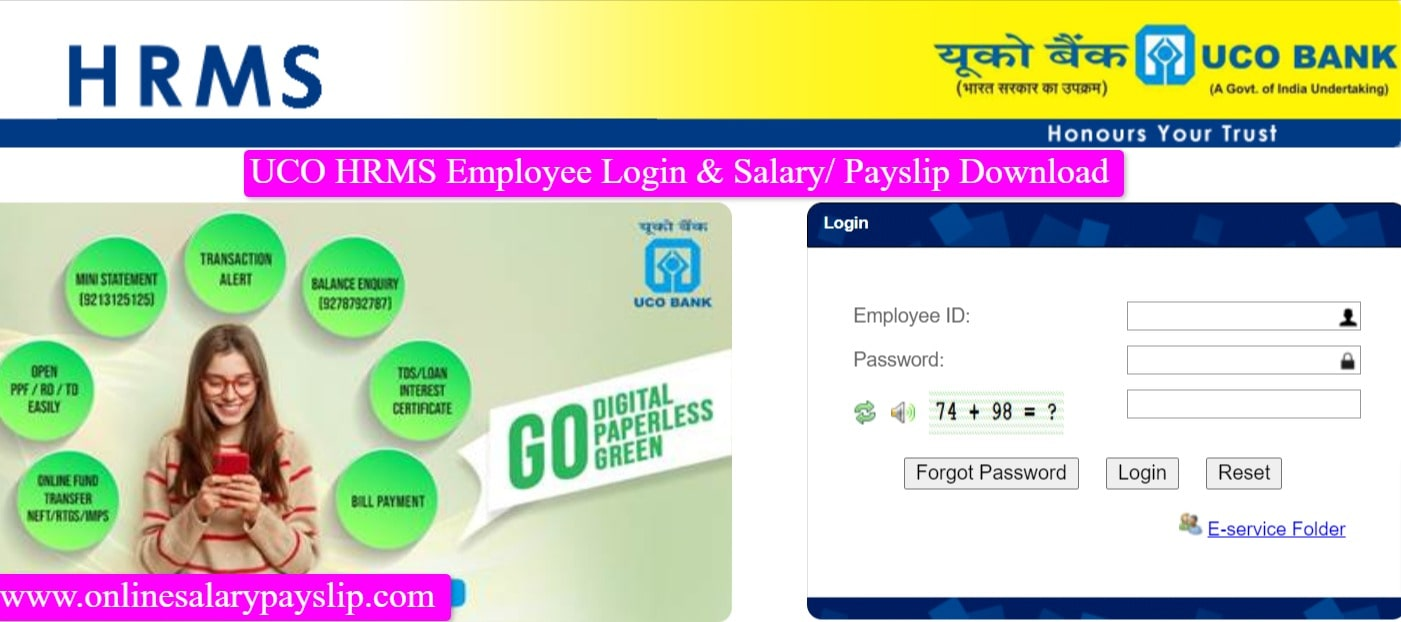 UCO HRMS Employee Login and Salary Payslip Download-min